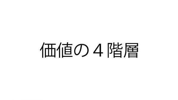 価値の4階層